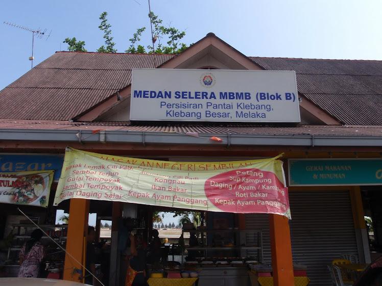 Kedai Makan Di Persisiran Pantai Klebang