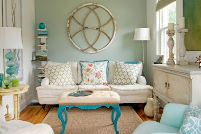Shabby Chic Living Room Designs