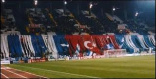 Riazor bandera Turquía