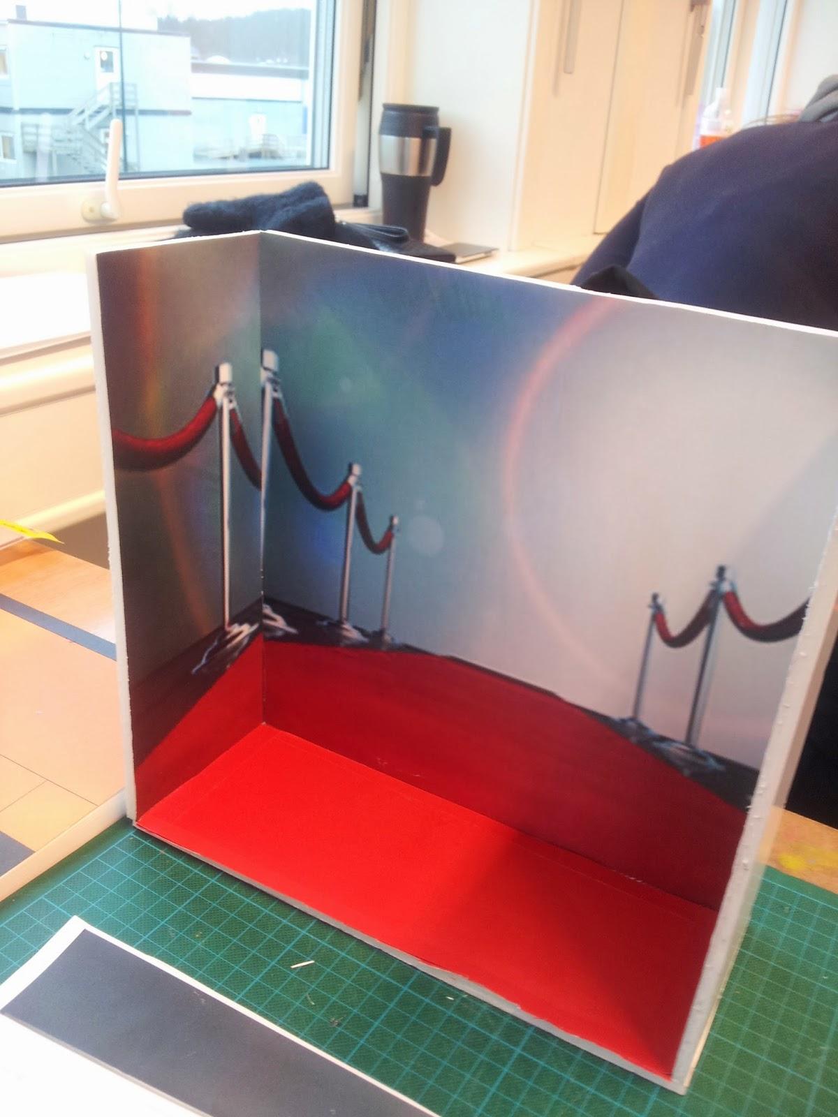 Martines fagblogg: Utstillingsdesign kurs dag 4