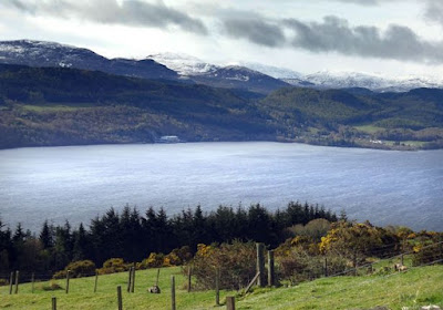 Una immagine del lago Ness