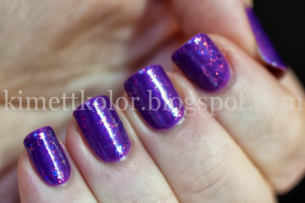 Purple Fire Flop | Kimett Kolor