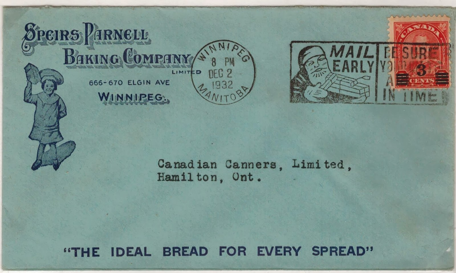 Postal History Corner: Canadian Domestic Letter Rates 1867 to the ...