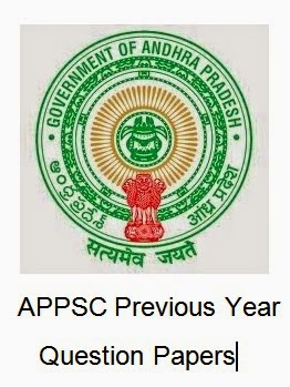 APPSC Old/ Last Year Question Papers