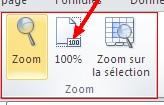 bouton « 100% »