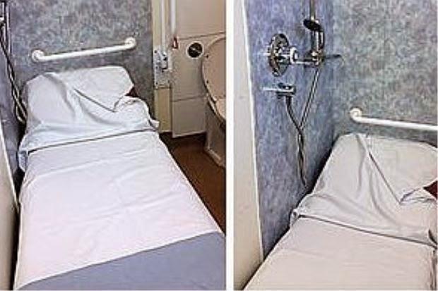 Pesakit Berang Ditempatkan Dalam Tandas Hospital