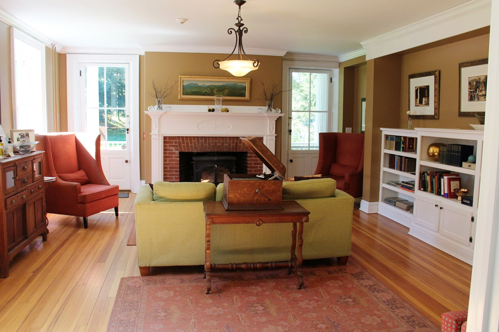 new england living autumn in vermont tv show the living room