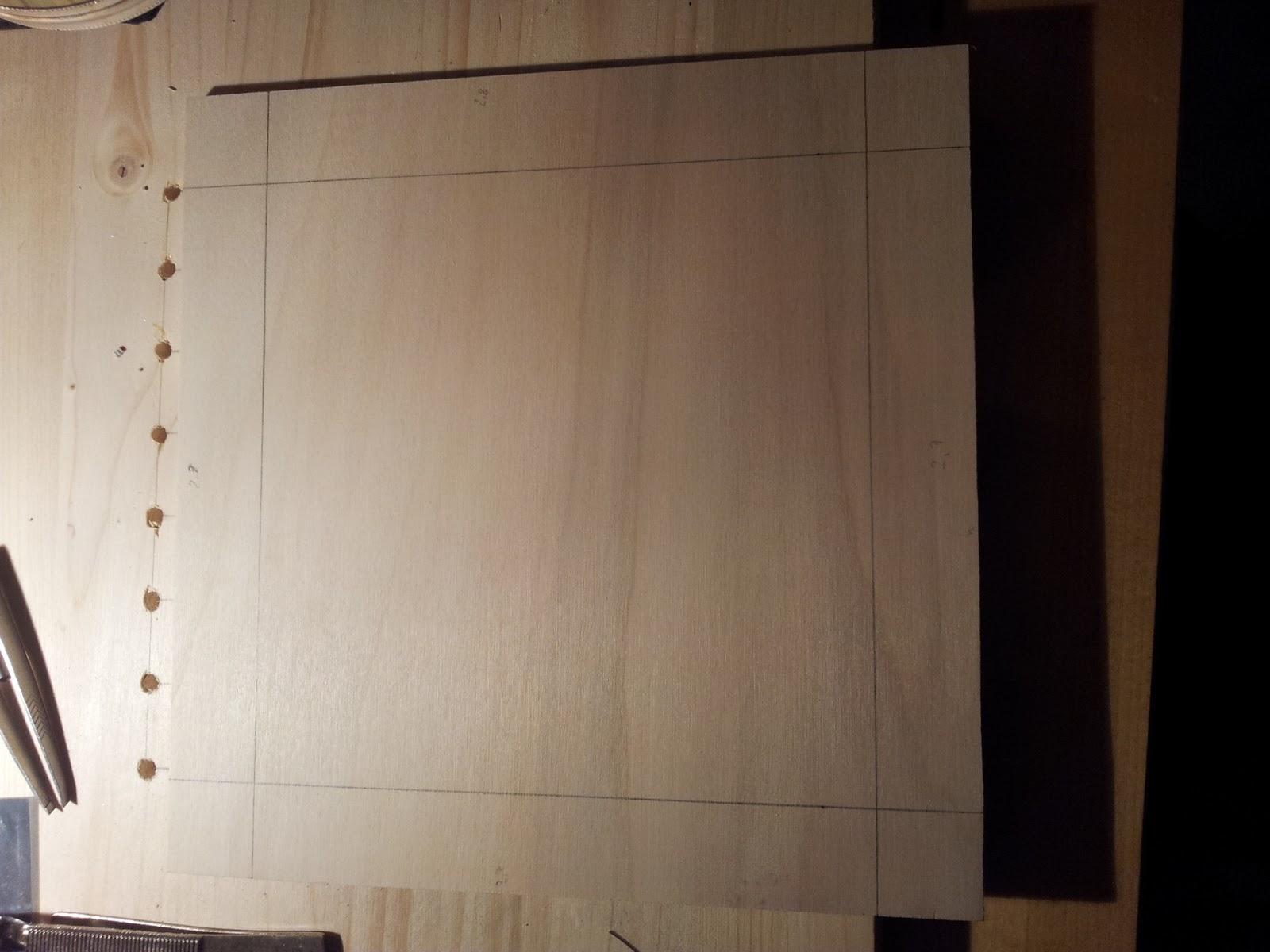 Bau des Gehäuses und Platzierung sowie Verdrahtung des Würfels   LED ...
