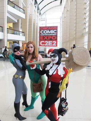 C2E2 2012 - Chicago Comic & Entertainment Expo | コミック&エンタテイメントエキスポ