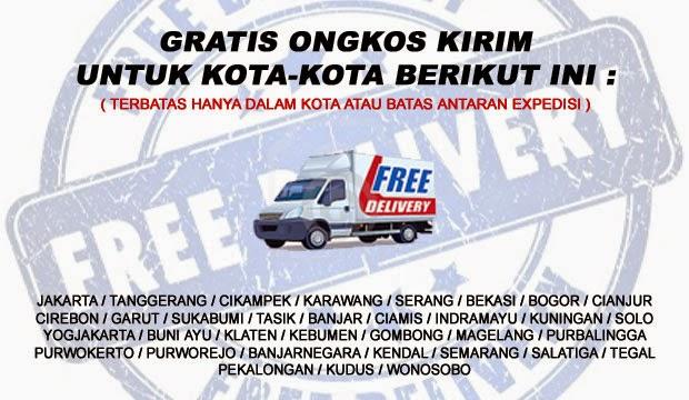 Gratis Ongkos Kirim Free Ongkir