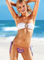 Magdalena Frackowiak sexy Victoria's Secret bikini model photo shoot