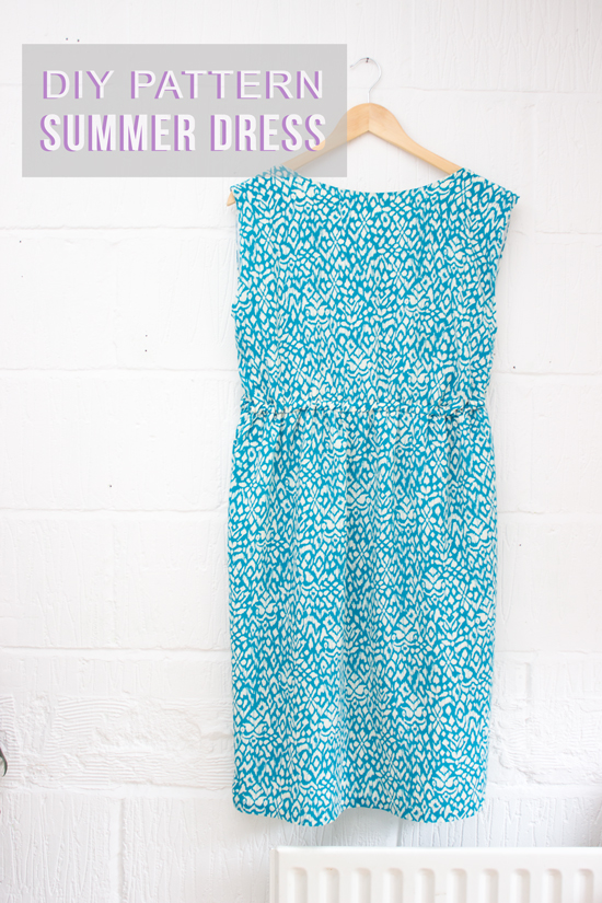 DIY summer dress pattern