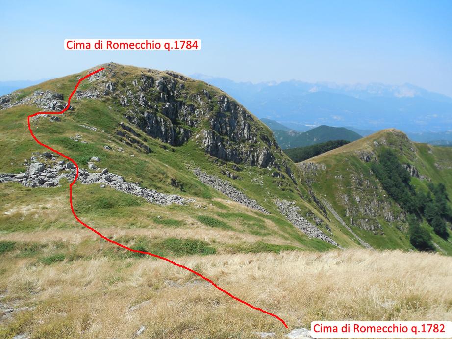 Escursionismo a 360 cime dell omo e di romecchio da for Garage con ponte in cima