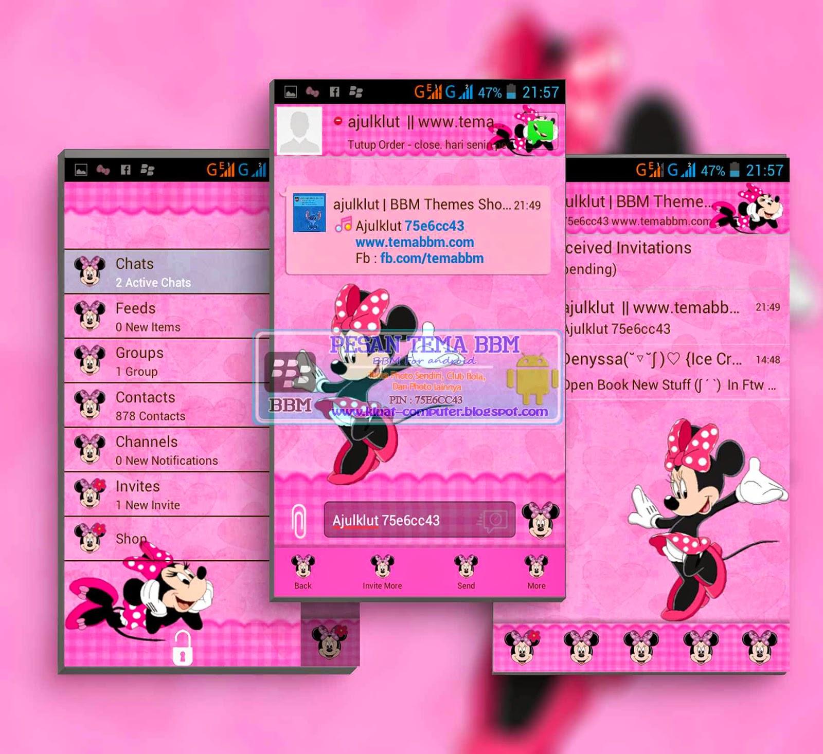 BBM MOD Minnie Mouse