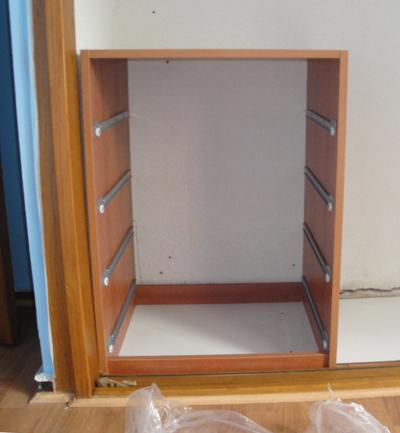 Zoila juan forrar armario empotrado - Como forrar las puertas de un armario ...