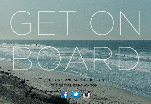 Oakland Surf Club Social Media Links