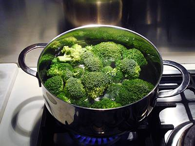 Pasta broccoli e vongole - Step 2