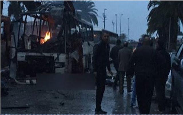 Attaque à Med V - Il se fait exploser dans le bus en criant Allahou Akbar !