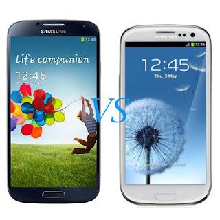 Kelebihan Samsung Galaxy S4 dengan Galaxy S3