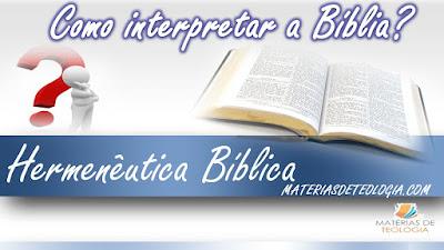 estudo bíblico teologia