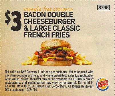 Burger king breakfast menu coupons