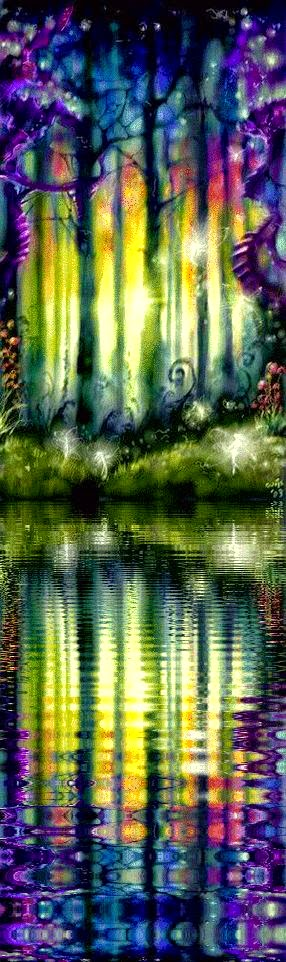 Rainbow Forest of the Fae