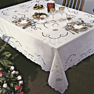Sapphire tablecloth