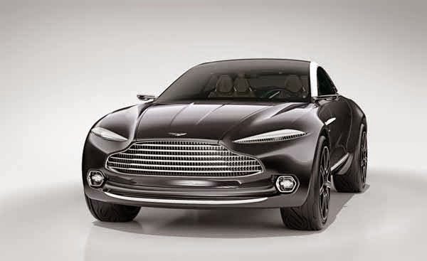 2015 Aston Martin DBX Concept Electric Sport Car