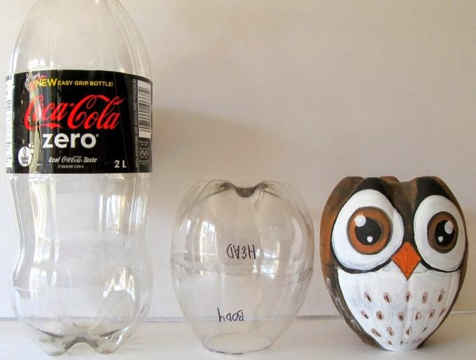 How to recycle soda plastic bottle bottom crafts - Plastic bottles recycling ideas boundless imagination ...