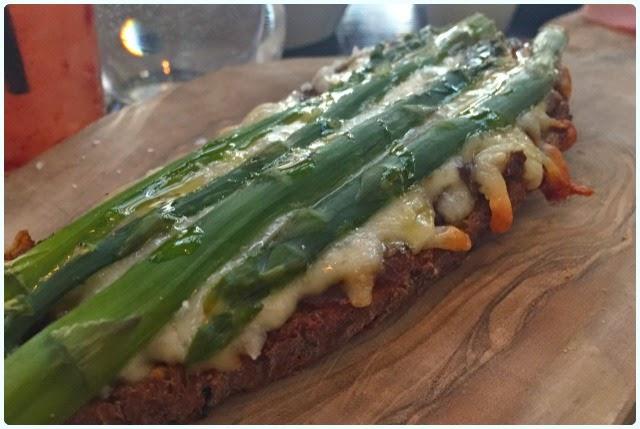 Iberica, Manchester - Asparagus Toast