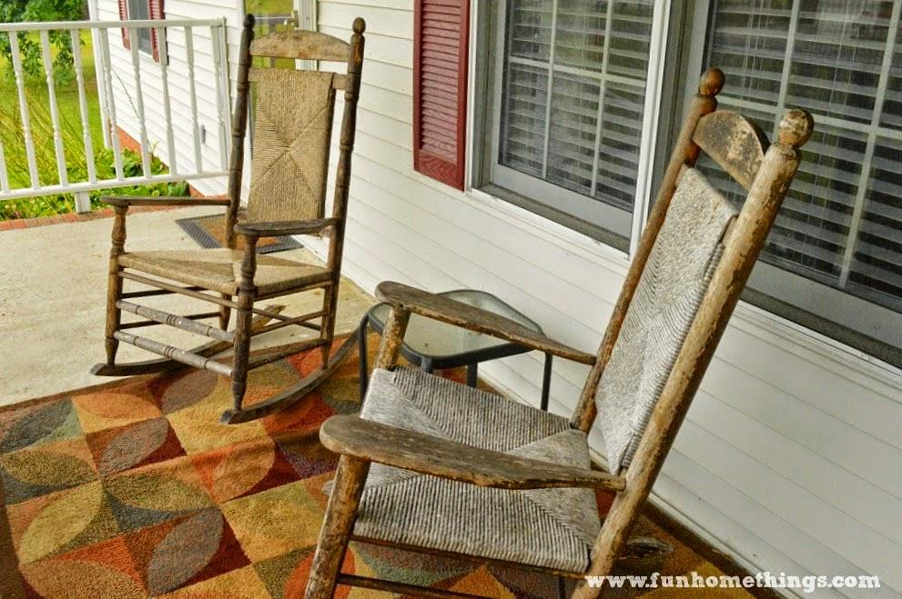 Annie Sloan Chalk Paint Rocking Chair Makeover Fun Home