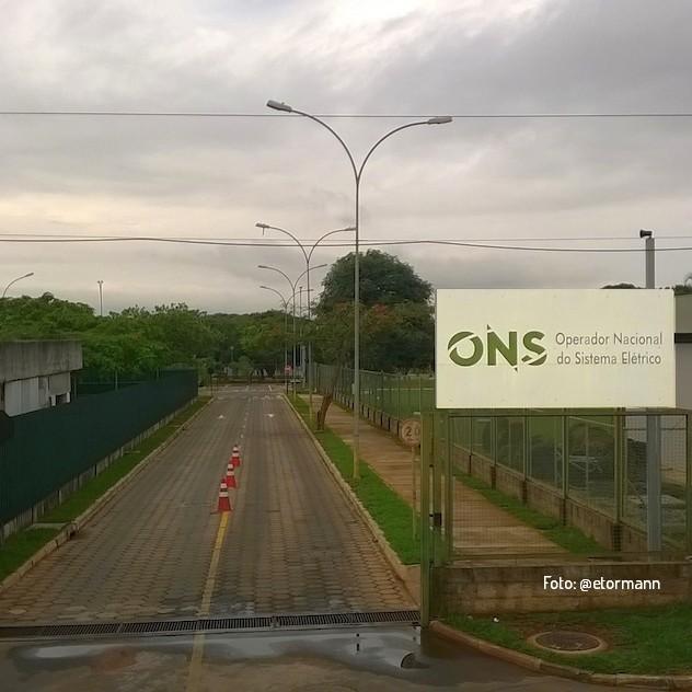 Portão de Entrada - Operador Nacional do Sistema Elétrico (ONS)