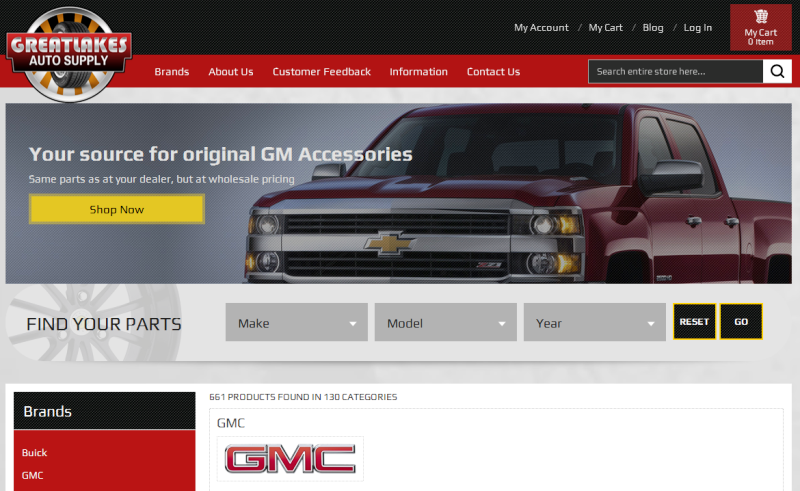 reputable supplier of genuine GM parts