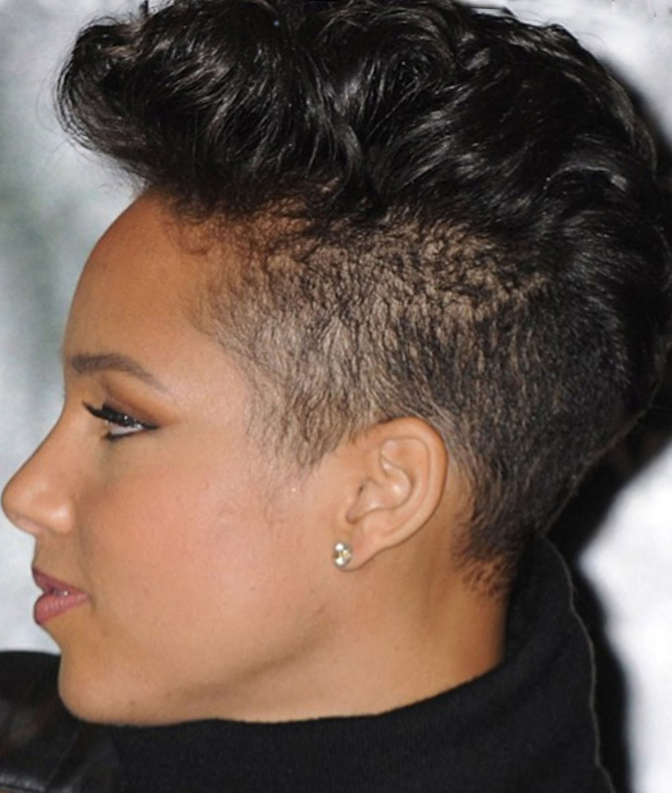 Mohawk Styles for Black Women