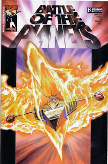 Cover of Battle of the Planets #3 from Top Cow/Image