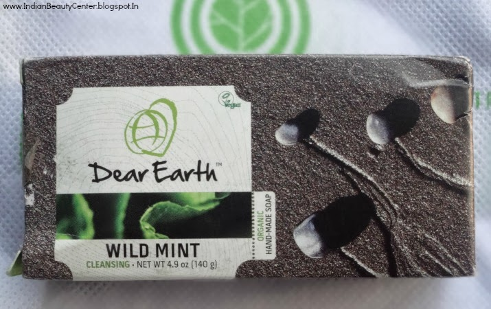 Unived Dear Earth Wild Mint Vegan Cleansing Soap Review