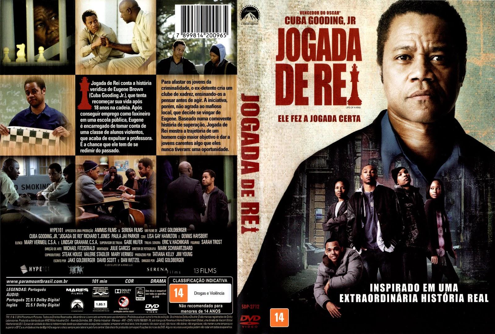 Capa DVD Jogada De Rei