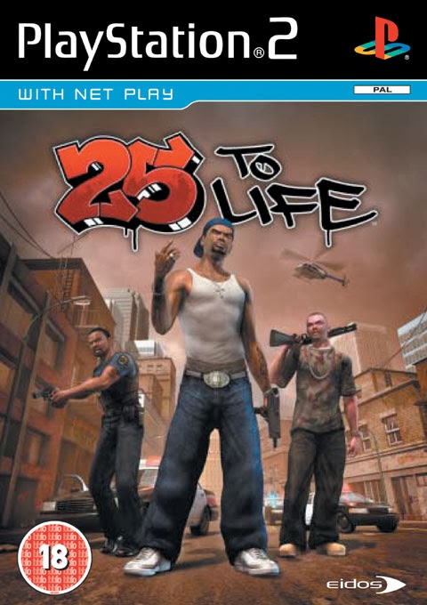 25 to Life PS2 ISO