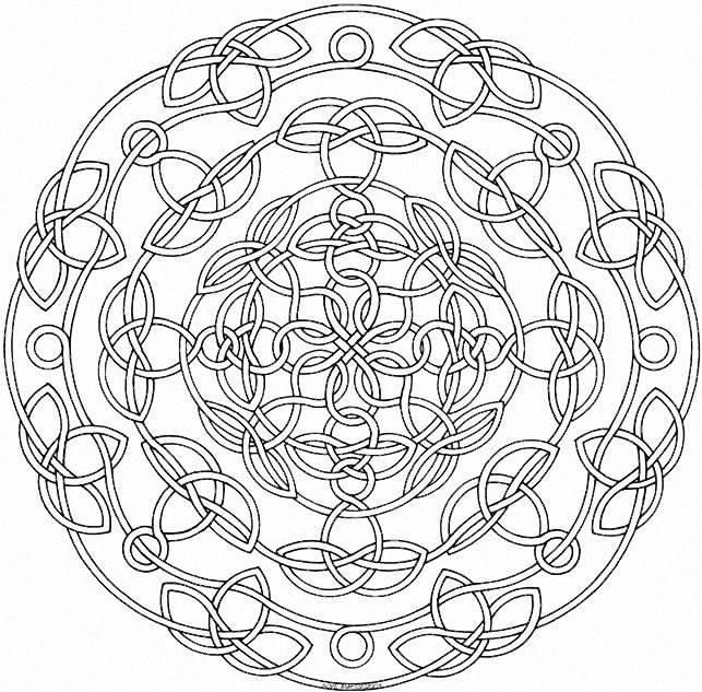 Mi Budha: Mandalas Para Colorear - Gran Trenzado