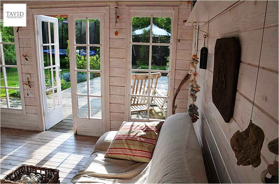 schwedisches gartenhaus maritime impressionen von innen maritimer wohnen coastal living. Black Bedroom Furniture Sets. Home Design Ideas