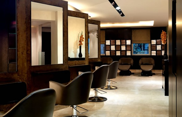 Salon interior best interior for Salon layout plans