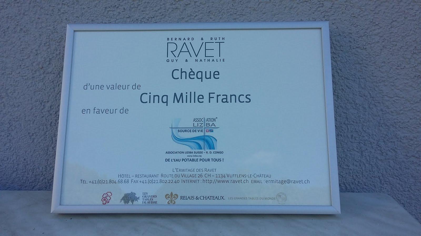 Don de Guy Ravet