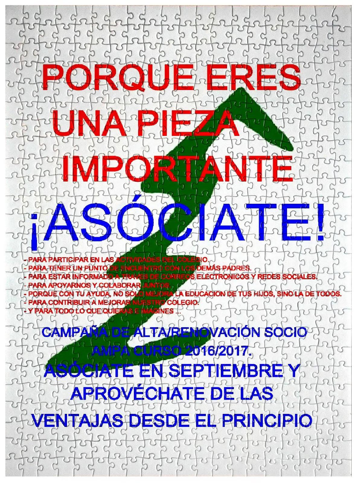 Campaña asóciate