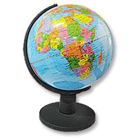 Desktop Globe Classic Blue