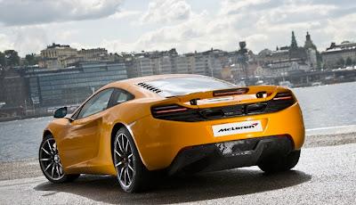 McLaren MP4-12C Enters Swedish Market
