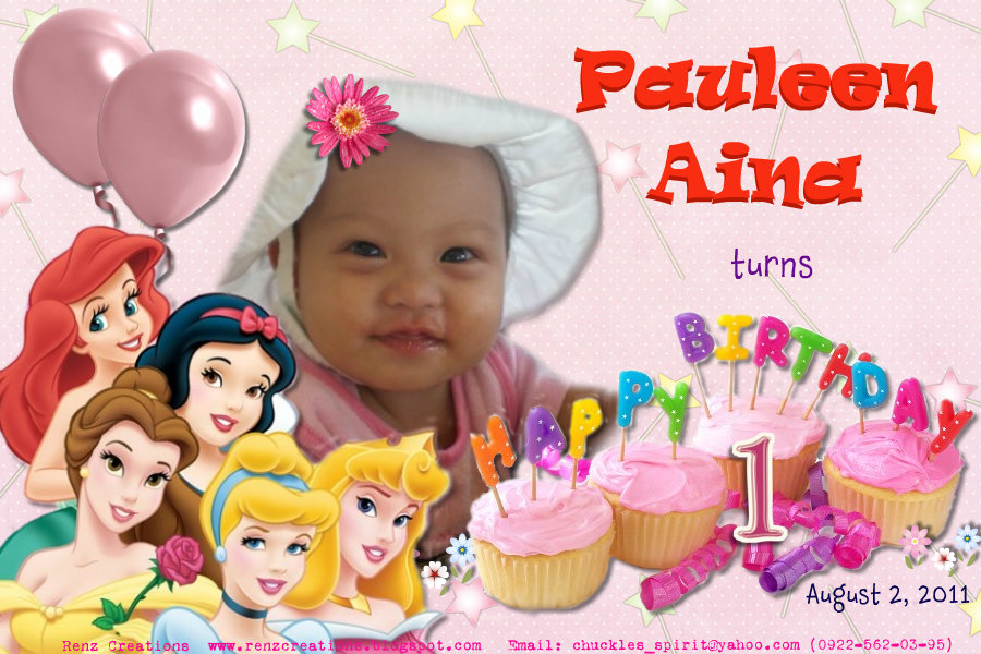 Birthday Tarpaulin Design
