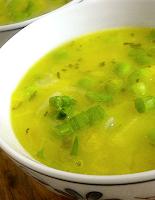 Sopa de Mandioquinha com Ervilhas (vegana)