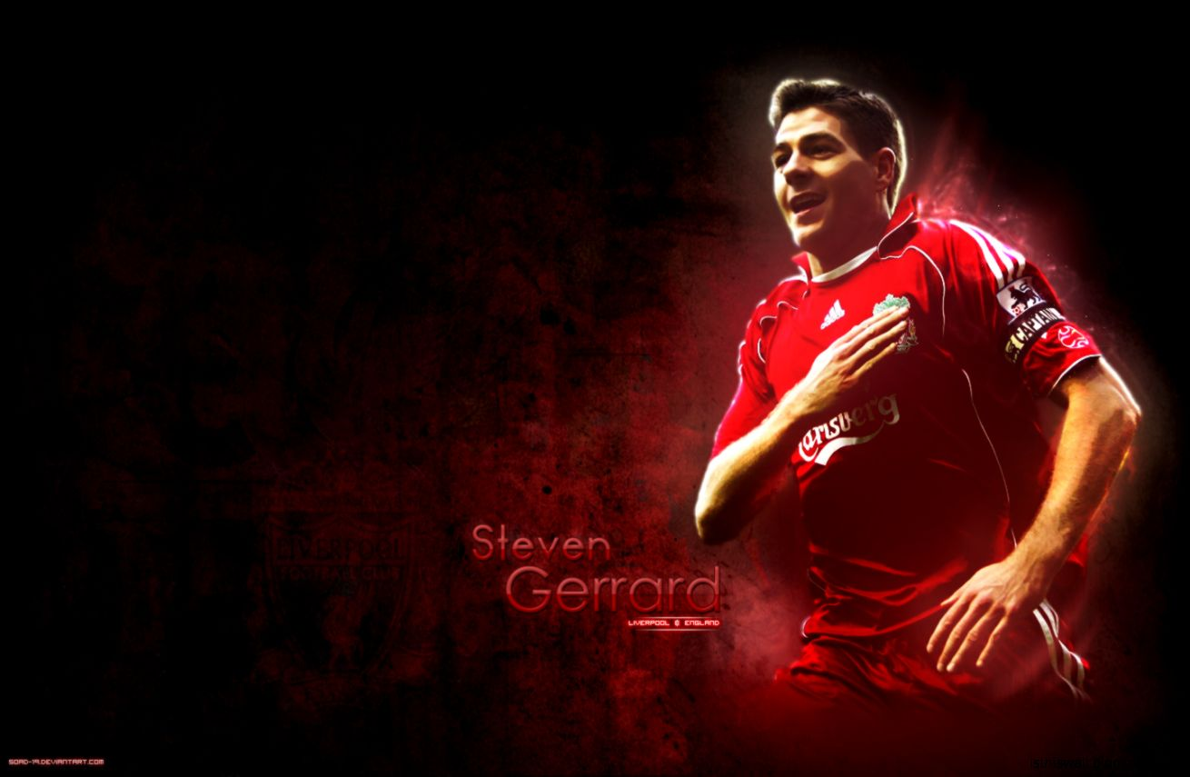 Steven Gerrard Wallpaper 1440x900 px Free Download   Wallpaperest
