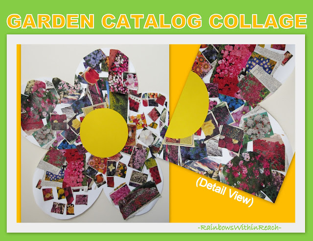 photo of: Enormous Spring Flower Collage using Garden Catalog Photos
