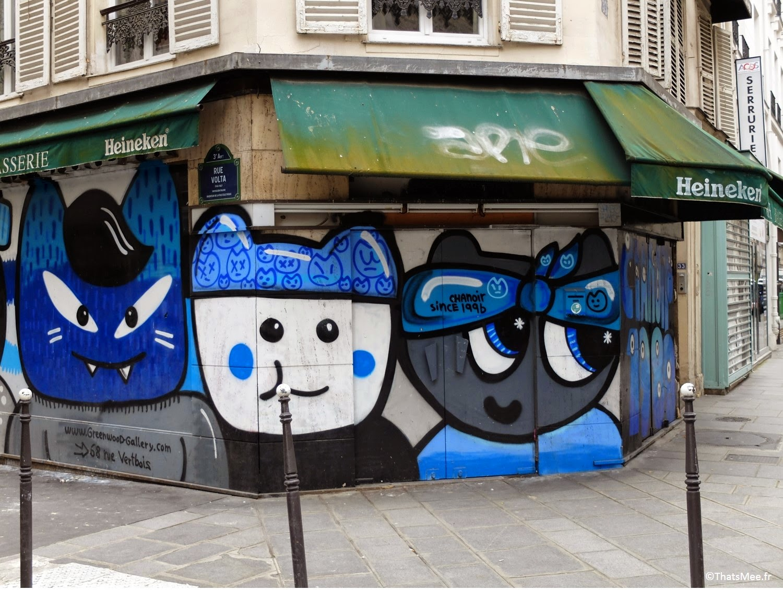 Street Art Chanoir 1980 La Jeune Rue Paris